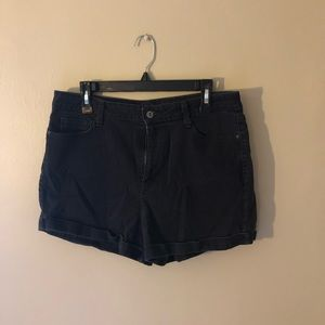 Retro High Rise Shorts